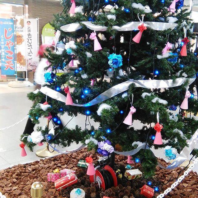 福山駅のクリスマスツリー #福山市